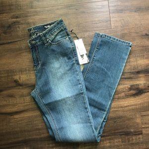 NWT Buffalo Mid Rise Straight Leg Jeans 6x32